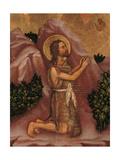 Valle Romita Polyptych  St John the Baptist