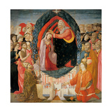 Coronation of Mary among the Angels and Saints  Di Biagio Baldassarre del Firenze  15th c Italy