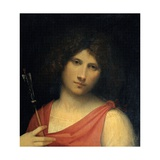 Boy with an Arrow (Apollo or Eros)  by Giorgione  1500 Kunsthistorisches Museum  Vienna