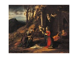 Nativity (Holy Night) with the Young St John & St Elizabeth
