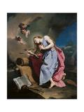 Mary Magdalene Meditating on the Crucifix