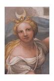 Frescoes in the Camera della Badessa