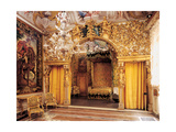 Room of the Married Couple (Alcove)  17th c Palazzo Mansi  Italy