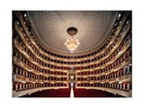 View of the Teatro alla Scala  Milan  after its restoration in 2004  Milan  Italy