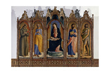 Madonna and Child with Sts Peter  Paul and John the Baptist