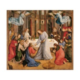 Communion of the Apostles  by Giusto da Guanto  c 1473-1474 Urbino  Italy