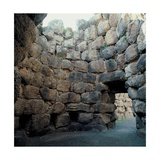 Nuraghe at Santu Antine  Interior  Limestone Blocks   8th c BC Torralba  Sardegna  Italy