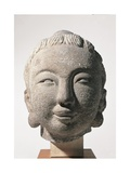 Head of Buddha or of Bodhisattva Unknown artist  undated Banca d'Italia  Gualino Collection  Rome