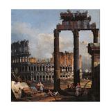 Capriccio with the Coliseum