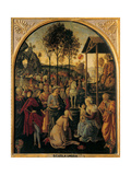 Adoration of the Magi  Unknown Umbrian Artist  c 1490 Palazzo Pitti  Florence  Italy