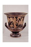 Greek Vase Bell Krater with Gigantomachy by Painter of Polignoto's School  5th c BC