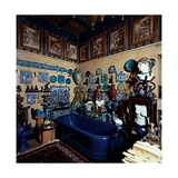 Blue Bathroom  20th c  The Vittoriale  Brescia  Italy