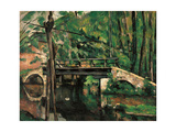 Bridge at Maincy  Melun  by Paul Cezanne  1879 Musee d'Orsay  Paris  France