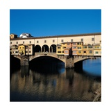 Ponte Vecchio in Florence  1345