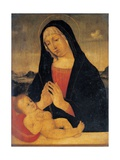 Madonna Adoring the Sleeping 17th c copy from 15th c Bellini Giovanni Brera Art Gallery  Milan