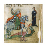 Life of St George and St Margaret  Dragon