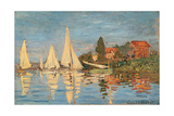 Regatta at Argenteuil  Monet Claude  1872 Musee d'Orsay  Paris  France