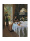 Interior  Muller Alfredo  1890 Private Collection  Italy