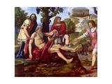 Ham Mocking Noah  Bernardino Luini  1510-1515 Brera Gallery  Milan  Italy
