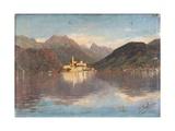 Isle of San Giulio in the Lake Orta