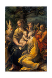 Madonna with Child and Sts Augustine  Jerome  Margaret and Angel