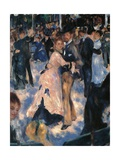 Dance at the Moulin de la Galette  by Pierre-Auguste Renoir  1876 Musee d'Orsay  Paris Detail
