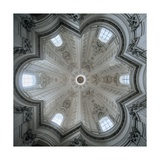 Church of Sant'Ivo alla Sapienza  Rome  Dome interior  1642-1662