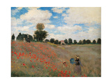 Poppy Field  by Claude Monet  1873 Musee d'Orsay  Paris  France