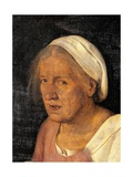 Old Woman (With Time)  by Giorgione  c 1508-1510