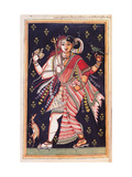 Hindu God Drawing of Indian subject commissioned by Niccolao Manucci 18th c