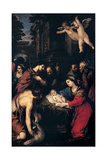 Adoration of the Shepherds  Pietro da Cortona  1623 San Salvatore in Lauro Church  Rome