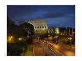 Flavian Amphitheatre or Coliseum at Night  79-80 AD Rome  Italy