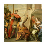 Apelles Making a Portrait of Pancaspe