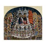 Coronation of the Virgin  Jacobello del Fiore  c 1400-1439 Accademia  Venice  Italy