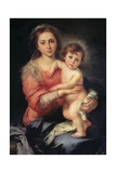 Madonna and Child  Bartolomo Esteban Murillo  1650-1655  Palazzo Pitti  Florence  Italy