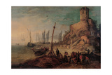 Sea Landscape with the Tomb of the Scipios