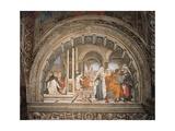 Carafa Chapel  Life of St Thomas Aquinas