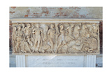 Sarcophagus with the Myth of Phaedra and Hippolytus  3nd Century AD Uffizi Gallery  Florence