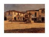 Square in Settignano