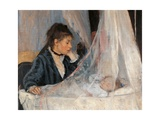 Cradle  by Berthe Morisot  1872 Musee d'Orsay  Paris  France