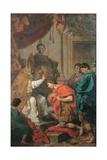 St Ambrose Converts Theodosius