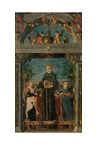 St Bernardine of Siena and Angels