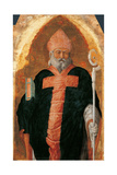 San Luca Altarpiece  (St Augustine)