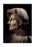 Bust of Actor Tiberio Fiorilli known as Scaramouche  1633-1690 Scala Theater  Milan  Italy