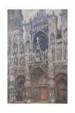 Rouen Cathedral Grey Day - Harmony in Grey  Monet Claude  1892-1894 Musee d'Orsay  Paris