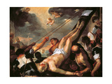 Crucifixion of St Peter  by Luca Giordano  1659-1660