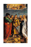 St Cecilia with Sts Paul  John the Evangelist  Augustine & Magdalene