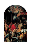 Baptism of Constantine  16th c Siena  Rome  Italy