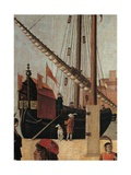 Legend of St Ursula The Arrival of the English Ambassadors by Vittore Carpaccio  1490-1495