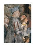 Meeting by Andrea Mantegna  c 1465-1474 Camera degli Sposi  Ducal Palace  Mantua
